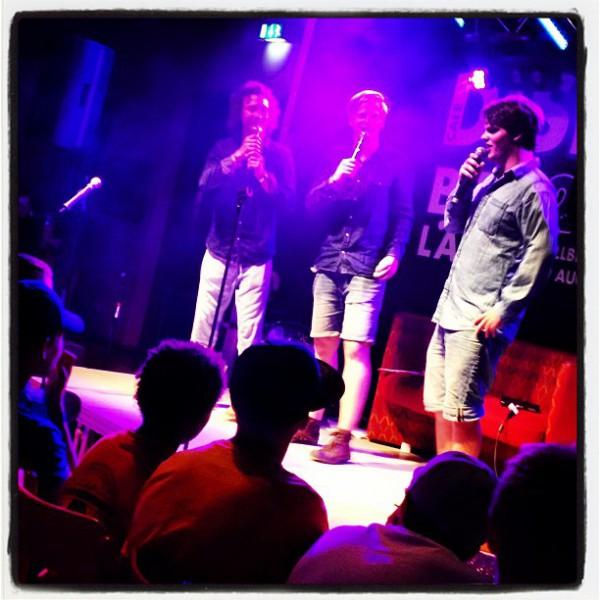 Diskant Café med Jeff, Arvid och Felix. Världsklass!
