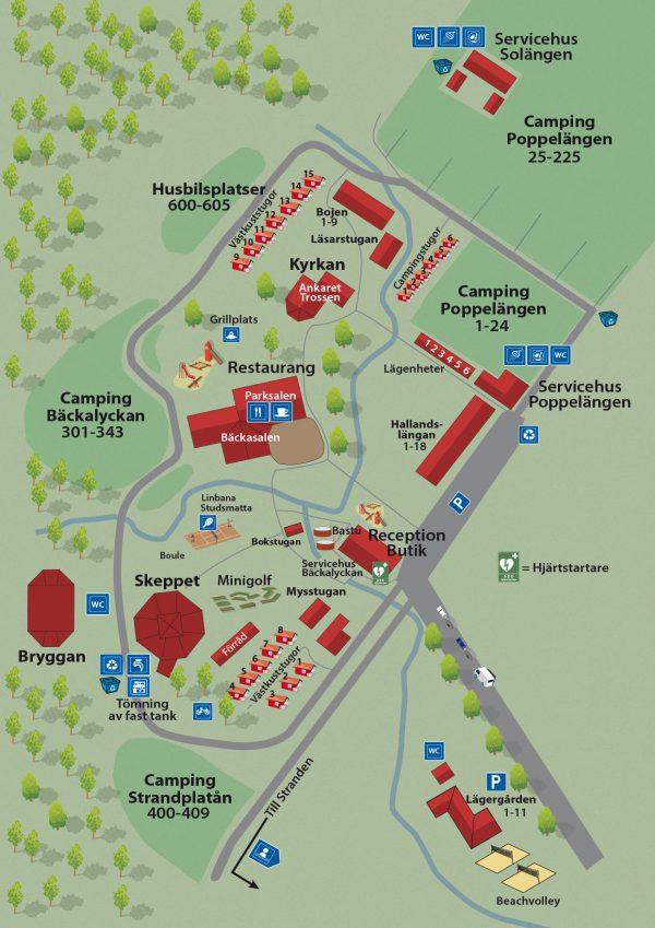 Områdeskarta Gullbrannagården