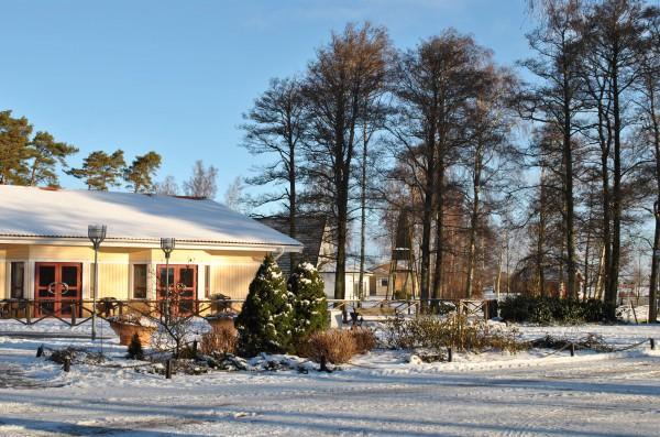 Vinter-restaurangen