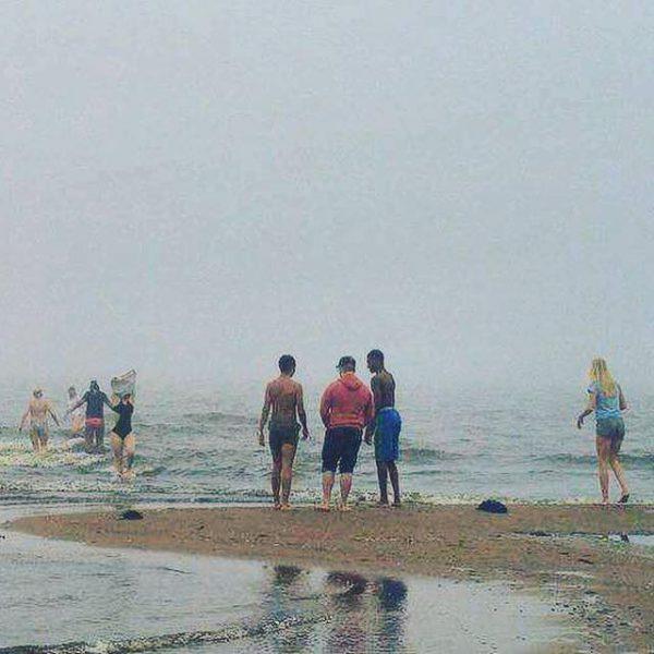 Bad i havet