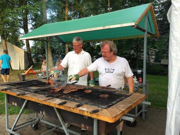 grillning- GUllbrannagården