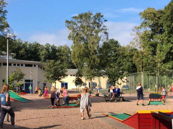 Minigolf Gullbrannagården