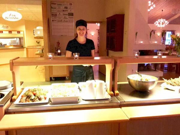 Miriam i köket