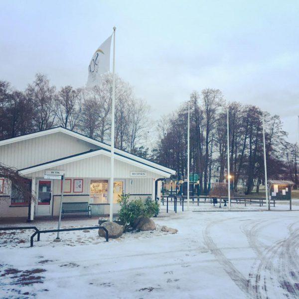 Snö Receptionen
