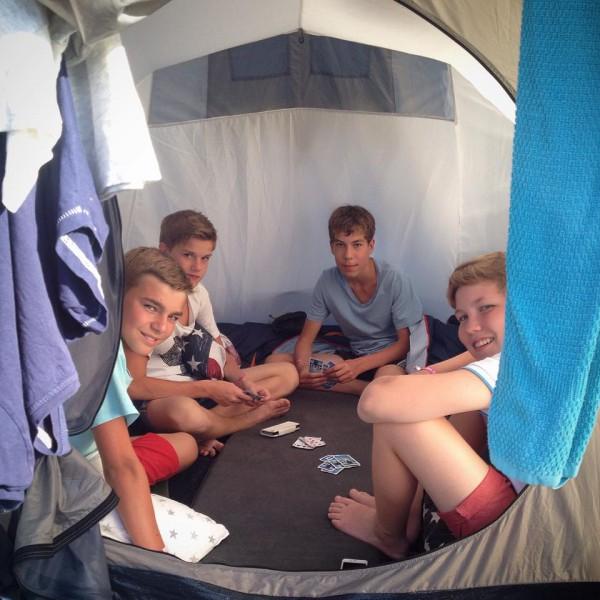 tonår-tält