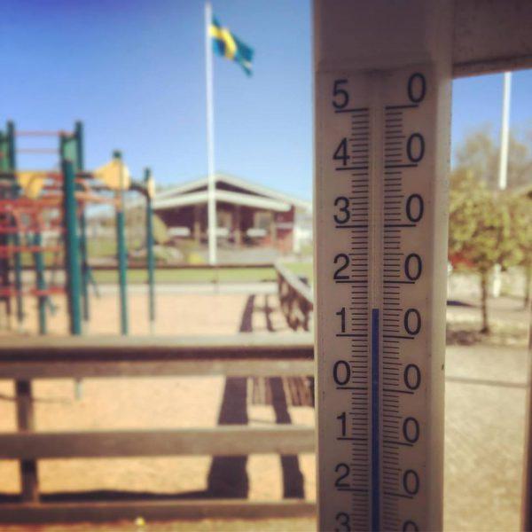 Bra väder på Gullbrannagården