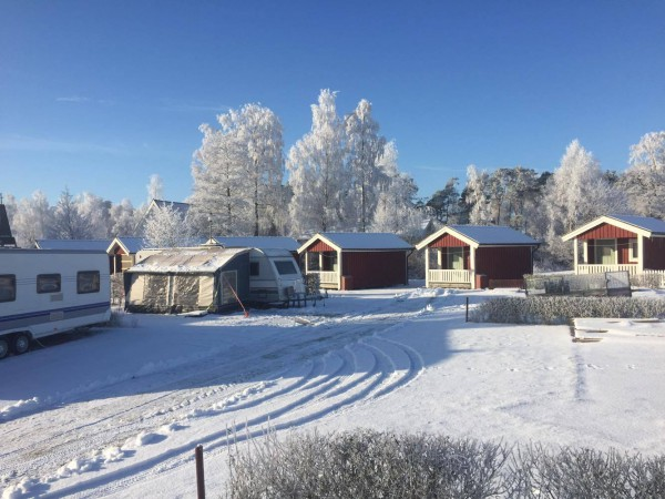 vinter camping